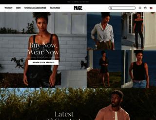 paige.com screenshot