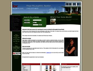 paigemclaughlin.yourkwagent.com screenshot