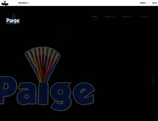 paigesignwire.com screenshot