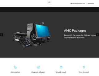 paiinfotech.com screenshot