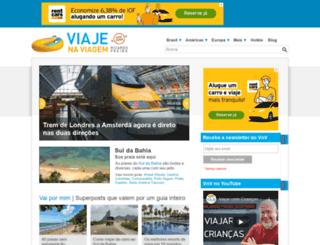 painel.viajenaviagem.com screenshot