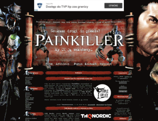 painkiller.ugu.pl screenshot