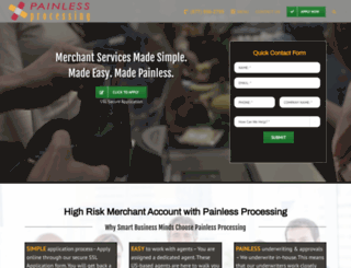 painlessprocessing.com screenshot