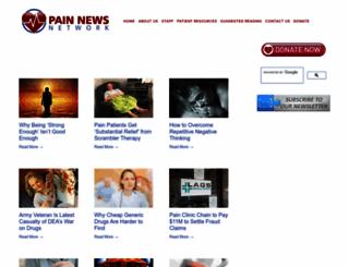 painnewsnetwork.org screenshot
