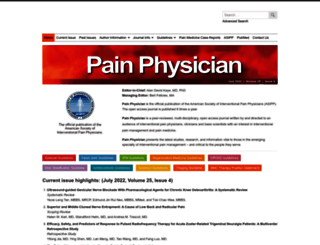 painphysicianjournal.com screenshot