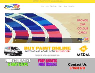 paint360.co.za screenshot
