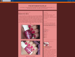 paintawaygirls.blogspot.com screenshot