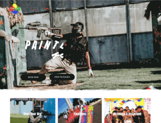 paintball-kuwait.com screenshot