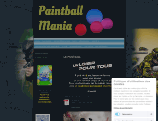 paintball-mania.fr screenshot