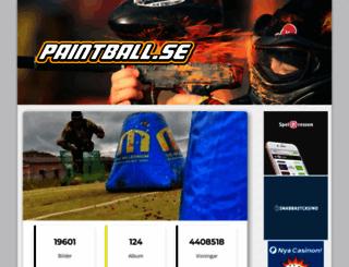 paintball.se screenshot