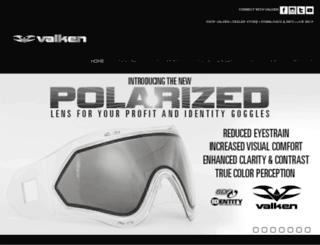 paintball.valken.com screenshot