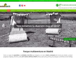 paintballcolmenar.es screenshot