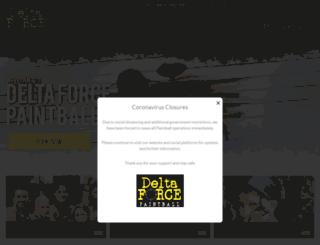 paintballgames.ie screenshot