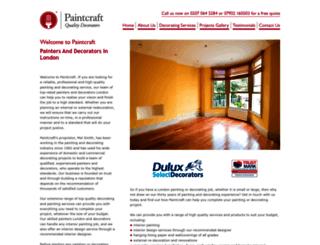 paintcraft.co.uk screenshot