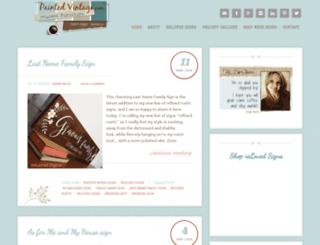 paintedvintage.com screenshot