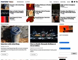 painters-table.com screenshot