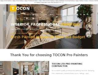 painterservices.ca screenshot