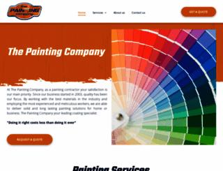 paintingco.co.za screenshot