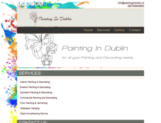 paintingindublin.ie screenshot