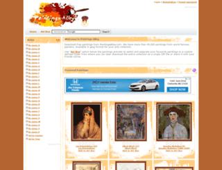 paintingsalley.com screenshot
