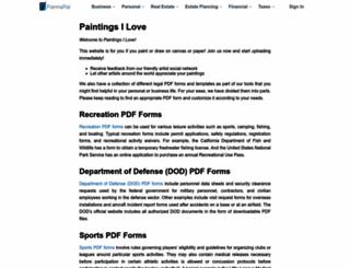 paintingsilove.com screenshot