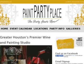 paintpartyplace.com screenshot