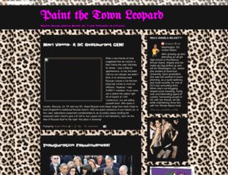 paintthetownleopard.blogspot.tw screenshot
