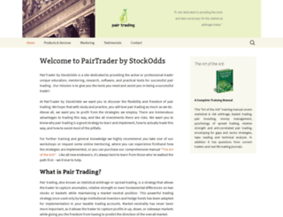 pairtrader.com screenshot