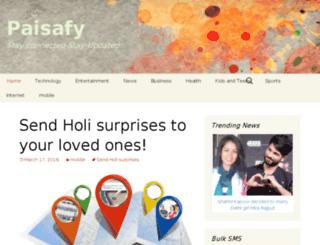paisafy.com screenshot