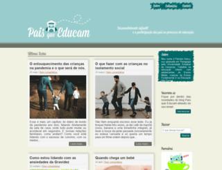 paisqueeducam.com.br screenshot