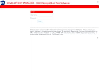 paitsmdev.service-now.com screenshot