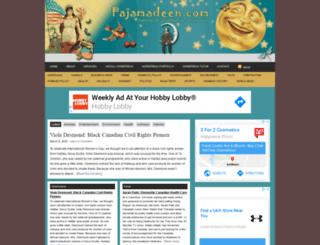 pajamadeen.com screenshot