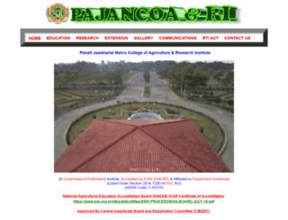 pajancoa.ac.in screenshot