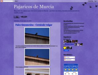 pajaricosdemurcia.blogspot.com screenshot