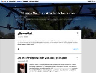pajaros-caidos.blogspot.com screenshot