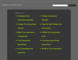 pajero-arab.com screenshot