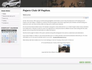 pajeroclubofpaphos.com screenshot