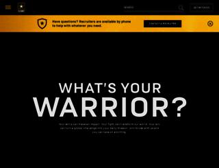 pak.army.com screenshot