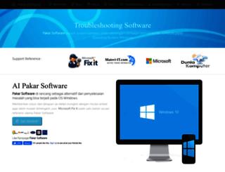 pakar-software.com screenshot