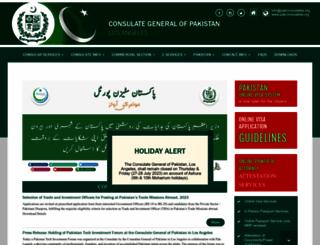 pakconsulatela.org screenshot
