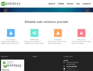 pakdevs.net screenshot