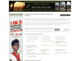 pakdirectory.net screenshot