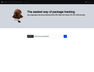 paketverfolgung.info screenshot