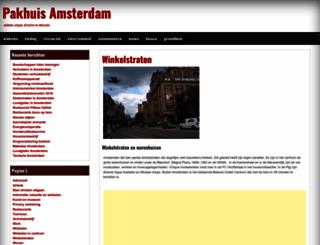 pakhuisamsterdam.nl screenshot
