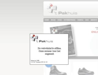pakhuisvolendam.nl screenshot