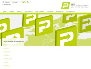 paki-logistics.de screenshot