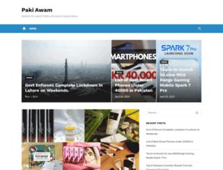 pakiawam.com screenshot