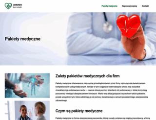 pakietymedyczne.info.pl screenshot