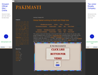 pakimasti4u.blogspot.com screenshot