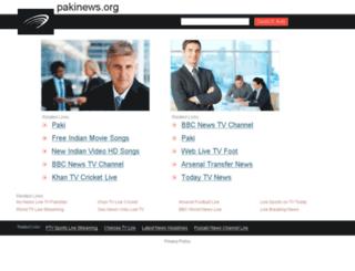 pakinews.org screenshot